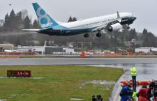 初代737から半世紀経た新型機 写真特集・737 MAX、シアトルで初飛行