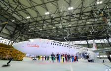 日本トランスオーシャン航空、737-800お披露目 10日から就航