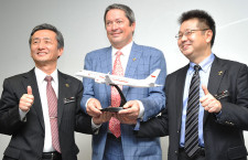 MRJ、米リース会社から20機受注で基本合意 18年納入