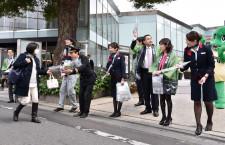 福井県、JALと魅力PR 大西会長「カニだけじゃない」