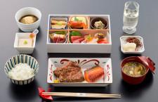JAL、ビジネスで「くろぎ」の和食 エコノミーはSoup Stock Tokyo、春の国際線新メニュー