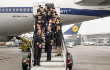 ルフトハンザ、NY便で女性乗務員フライト 国際女性デーで
