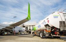 ユナイテッド航空、バイオ燃料で定期便 60%以上CO2削減