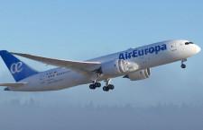 エア・ヨーロッパ、787-8スペイン初受領 リース導入