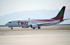 ティーウェイ航空、中部-済州4月就航 週4往復