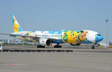 ANAのポケモン「ピースジェット」、4年9カ月運航 通常塗装に