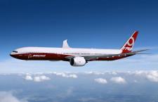 ボーイング、777X用シミュレーターのサプライヤー選定 米TRUに