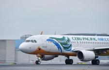 セブパシフィック航空、日本路線増便 冬ダイヤ、マニラ発3路線