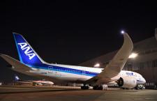 ANA、羽田-伊丹など9便欠航 31日まで、787エンジン不具合で