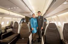 ハワイアン航空、新ビジネスクラスのA330初受領 今秋から本格導入