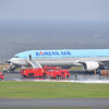 大韓航空の777、タービンディスク破断で火災か 16年5月、羽田の航空事故