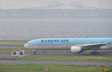 大韓航空機、羽田の滑走路から移動 28日も影響残る