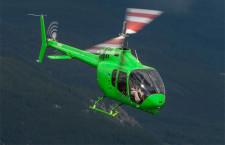 ベル、小型ヘリ505を日本初披露