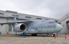 C-2輸送機、米子空港で誘導路外れる ANA便3便欠航