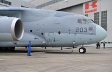 国産最大の航空機、空自へ 写真特集・川崎重工C-2量産初号機