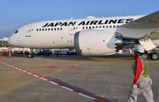 操縦席も「おしぼり乾きにくい」写真特集・JALの787-8、全機揃う