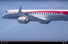 MRJ、2号機初飛行の動画 3・4号機、今夏初飛行へ