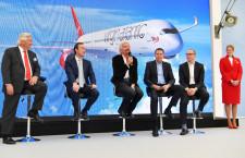 ヴァージン、A350-1000発注 747とA340後継、19年初受領