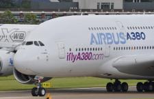 エアバス、20年で3万3300機の需要予測 超大型機は下方修正