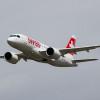 スイス国際航空、CS100初の商業飛行 チューリッヒ発パリ行き