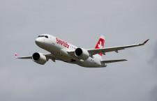 スイス国際航空、6機目のCS100受領