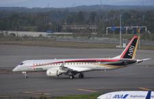 MRJ量産初号機の試験機転用報道、三菱航空機「発表段階ではない」