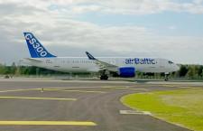 CS300、欧州で路線実証飛行 エア・バルティックと