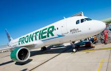 米フロンティア航空、A320neo初号機受領 米国初のLEAP機