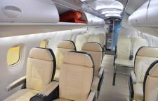 ボーイングやエアバス、新客室をVR体験 MRJはモックアップ展示、国際航空宇宙展