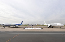 ANAとJAL、東京五輪の特別塗装機 国内線に就航