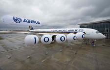 シンガポール航空、3年ぶり米国直行便 A350でサンフランシスコ