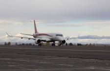 MRJ、米国で初の飛行試験 初号機が3時間フライト