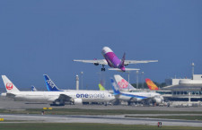 GW旅客数、国内線6.6%増323万人 国際線利用率8割超え