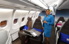 ハワイらしさ追求した新シート 写真特集・ハワイアン航空ビジネスクラス
