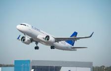 エア・アスタナ、A320neo初号機受領 CIS初、2クラス148席