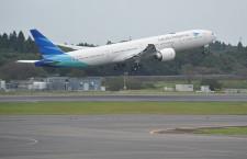 ガルーダ・インドネシア航空、羽田に777 ファースト設定、冬ダイヤから本格導入
