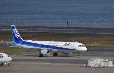 ANAのA321ceo初便、宮崎から帰着 国内線初の電動シート