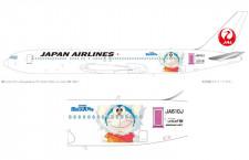 JAL、ドラえもんジェット国内線にも 12月から