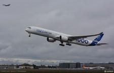 エアバス、A350-1000初号機が初飛行 JALも導入