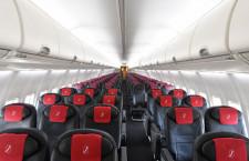 黒と赤でまとめた国内線新仕様機 写真特集・JALスカイネクスト最終改修機JA345J(前編)