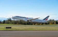 エールフランス、787関空就航でカフェ 梅田に7月まで