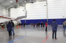MRJ、米国拠点で見学会 関係者170人招待