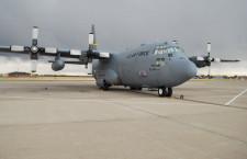 ロールス・ロイス、米空軍C-130Hエンジン改良型の初飛行完了 燃費や高高度性能向上