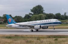 中国南方航空、A320neoリース導入 本土初受領