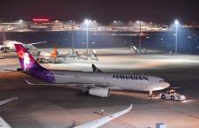 ハワイアン航空、羽田・関空12月再開 成田も増便、東京-ホノルル毎日運航に