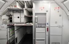 狭小空間生かしたギャレーと化粧室 写真特集・ANA A320neo初号機就航(2)