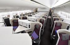 JAL、関空-ホノルル線にスカイスイート777就航 ビジネスはフルフラットに