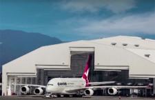 カンタス航空、ロサンゼルス空港にA380対応格納庫