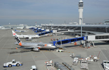 中部空港、スカイデッキ6月再開 マスク着用、1つの手すり1組
