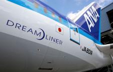 ANAの787初号機、通常塗装で登場 初の再塗装機